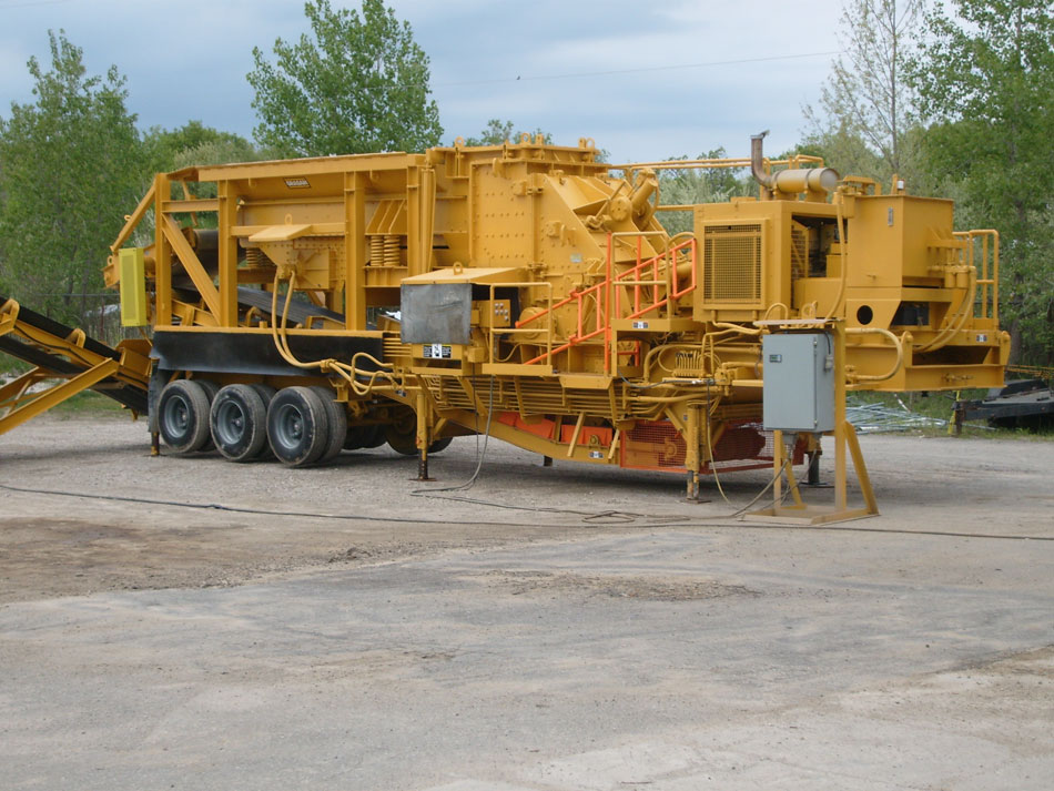 Grasan/Hazemag 1013 AHHP Portable Primary Impactor Plant - After