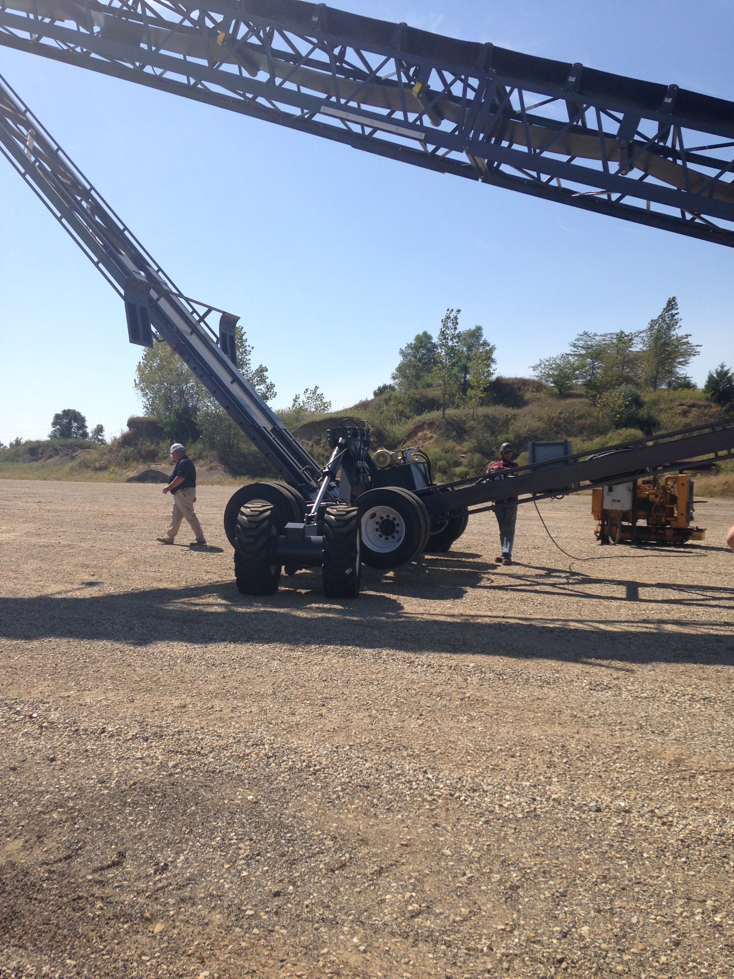 """TCI 36"""" x 125' Fold Under Axle"""