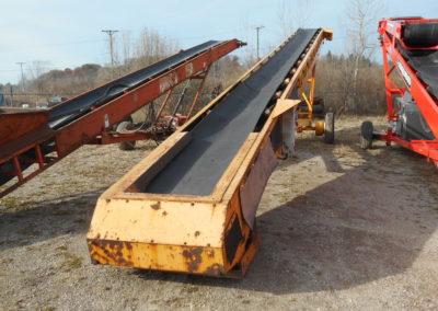 shop built 36x60 conveyor
