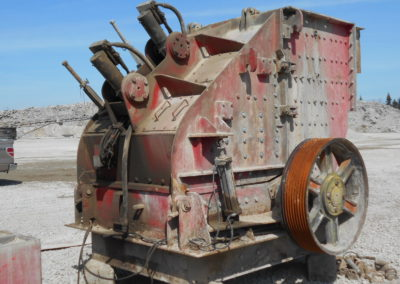 used Hazemag primary impact crusher 1515
