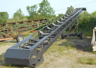 "Shop built 36"" x 60' transfer conveyor"