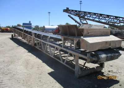 "42"" x 80' transfer conveyor"