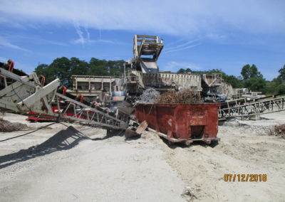 Complete concrete recycle plant including all electrical, genset, conveyors; TURN KEY!