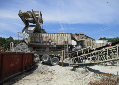 KPI-JCI 5260 impact crusher with on board 6x20 triple shaft screen