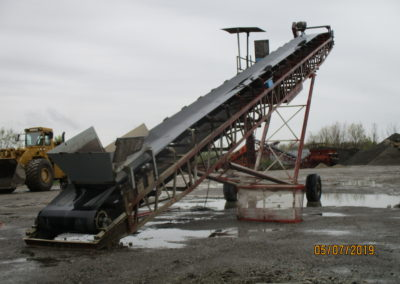 "Grasan 48""x80' conveyor"