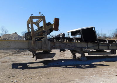 "Grasan 48""x65' crusher discharge/feed conveyor"