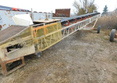 "30"" x 60' Kohlberg portable radial stacker"
