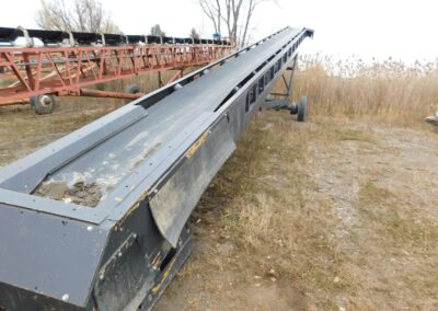 "36"" x 65' portable feed conveyor"