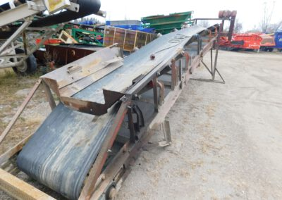 "36"" x 28' channel conveyor"